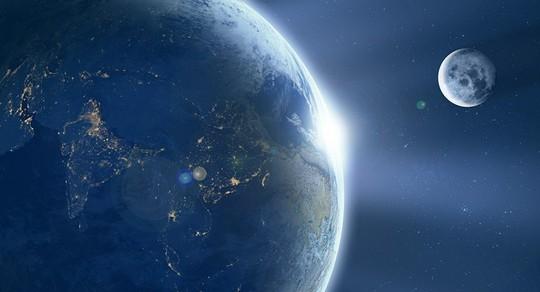 Nước trên mặt trăng có thể làm nhiên liệu tên lửa - Ảnh 1.