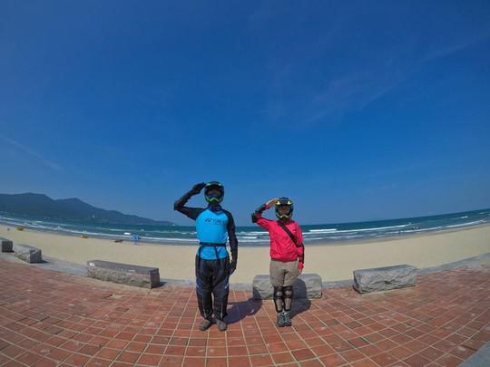 Ghen tỵ với chuyến phượt xuyên Việt bằng xe máy của cặp đôi Hà thành - Ảnh 7.