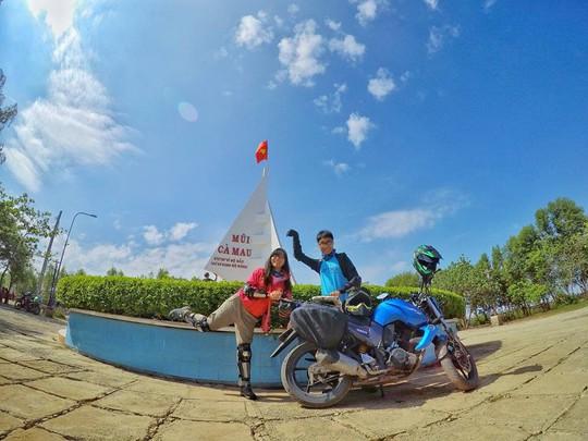Ghen tỵ với chuyến phượt xuyên Việt bằng xe máy của cặp đôi Hà thành - Ảnh 10.