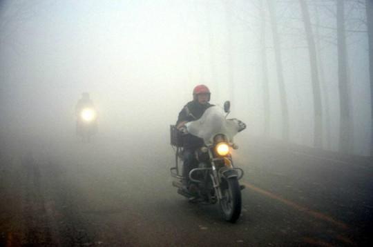 Lái xe du xuân vùng rẻo cao mù sương cần lưu ý gì? - Ảnh 2.
