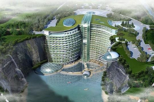 Tuyệt tác khách sạn 5 sao nằm sâu trong lòng đất 100m - Ảnh 3.