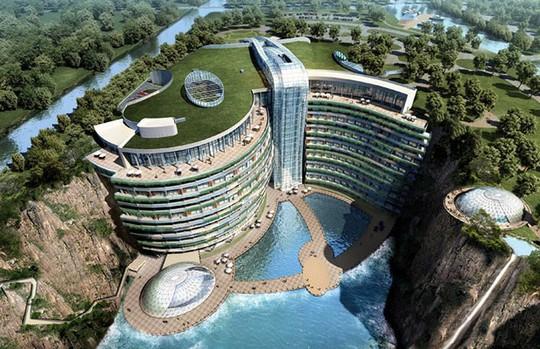 Tuyệt tác khách sạn 5 sao nằm sâu trong lòng đất 100m - Ảnh 7.
