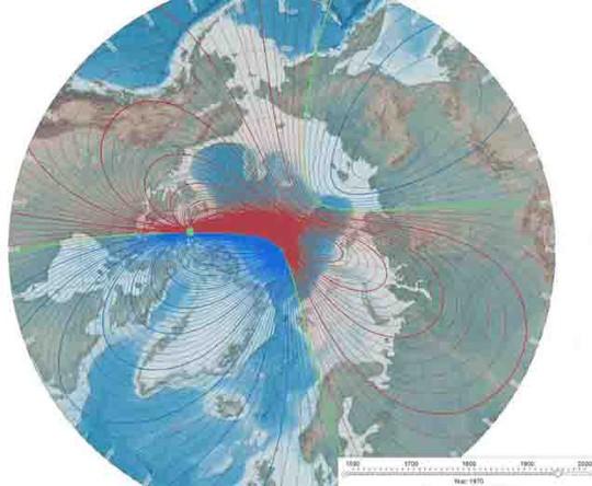 Cực từ trái đất có thể bị đảo ngược - Ảnh 1.