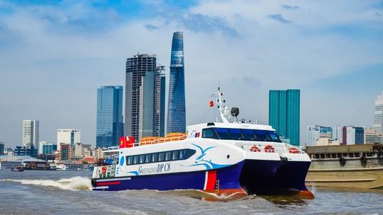 Ngày 10-2, khai trương tàu cao tốc du lịch TP HCM - Cần Giờ - Vũng Tàu - Ảnh 1.