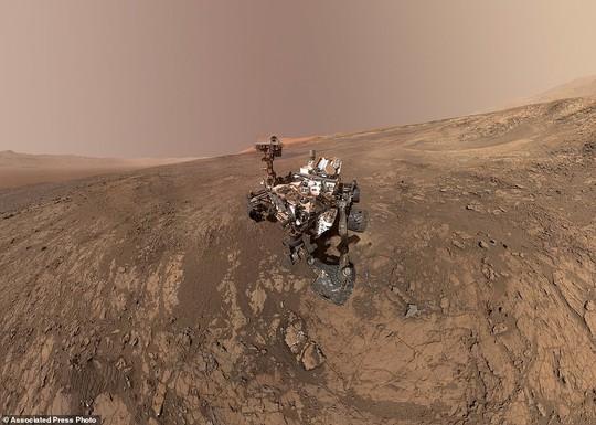 Độc đáo ảnh tự sướng trên… Sao Hỏa - Ảnh 1.