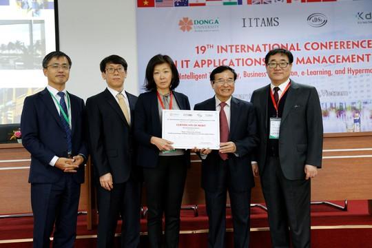 Hội thảo quốc tế về ứng dụng công nghệ thông tin và quản lý - Ảnh 1.