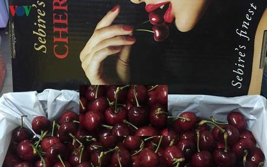 Loạn giá cherry nhập ngoại ngày cận Tết - Ảnh 2.