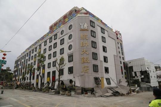 Động đất Đài Loan: Còn hơn 50 người mất tích - Ảnh 2.