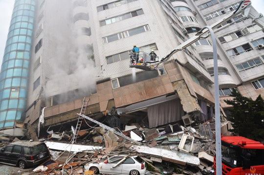Động đất Đài Loan: Còn hơn 50 người mất tích - Ảnh 3.