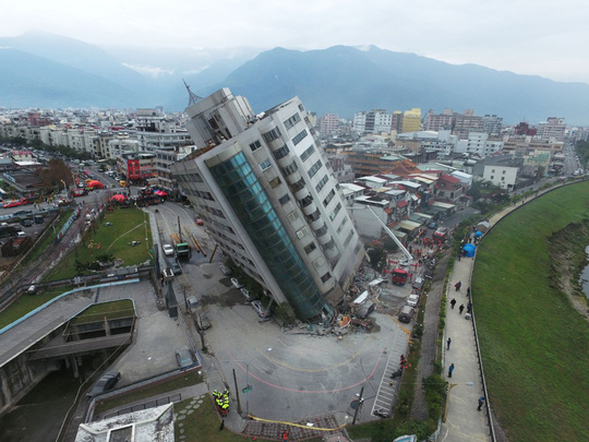 Động đất Đài Loan: Còn hơn 50 người mất tích - Ảnh 4.
