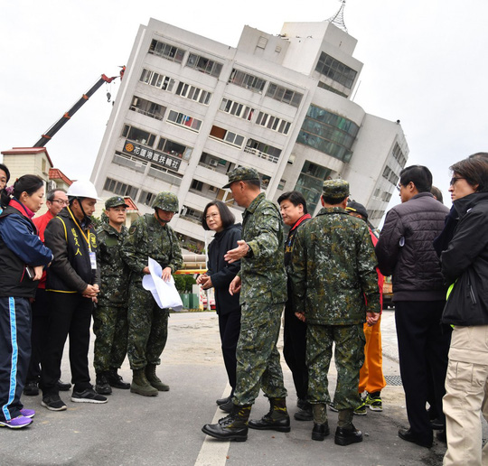 Động đất Đài Loan: Còn hơn 50 người mất tích - Ảnh 5.