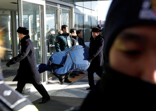 Mỹ nữ Triều Tiên đổ bộ Hàn Quốc - Ảnh 1.