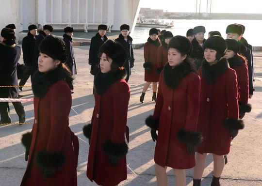 Mỹ nữ Triều Tiên đổ bộ Hàn Quốc - Ảnh 9.