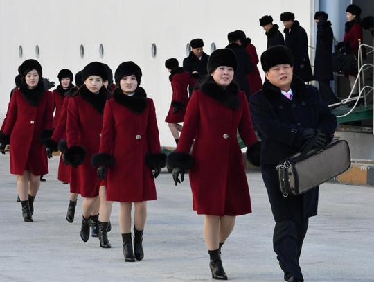 Mỹ nữ Triều Tiên đổ bộ Hàn Quốc - Ảnh 5.