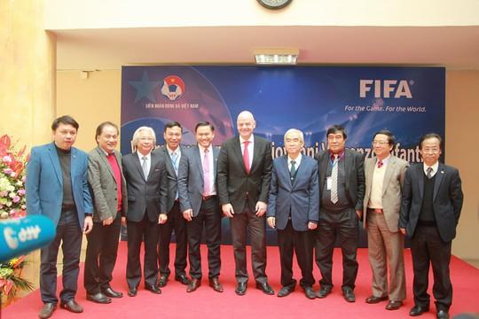 Từ kỳ tích U23, Chủ tịch FIFA nói về cơ hội World Cup của Việt Nam - Ảnh 2.