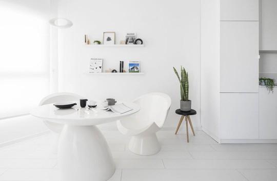 Căn hộ 42m² rộng thênh thang nhờ màu trắng tinh khôi - Ảnh 5.