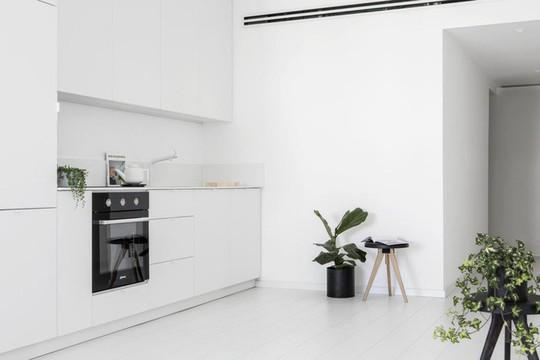 Căn hộ 42m² rộng thênh thang nhờ màu trắng tinh khôi - Ảnh 6.