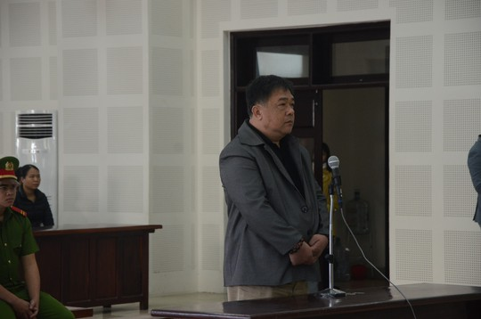 Đang xét xử vụ án đe dọa giết Chủ tịch Huỳnh Đức Thơ - Ảnh 1.
