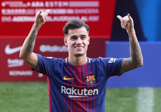 Chấn thương, Coutinho hoãn trận ra mắt cho Barcelona - Ảnh 1.