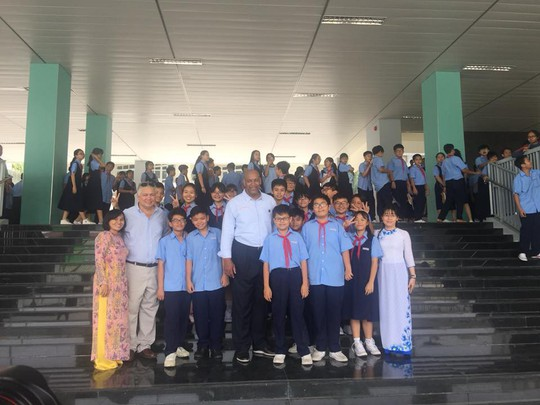 Trường hót nhất quận 10 tuyển 240 học sinh lớp 6 - Ảnh 1.
