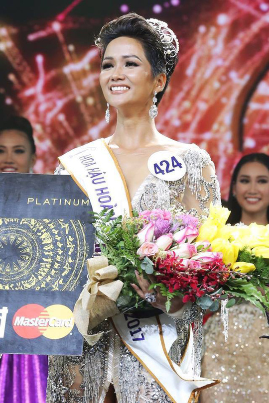 Hoa hậu Hoàn Vũ Việt Nam 2017 sở hữu vẻ đẹp khác lạ - Ảnh 1.