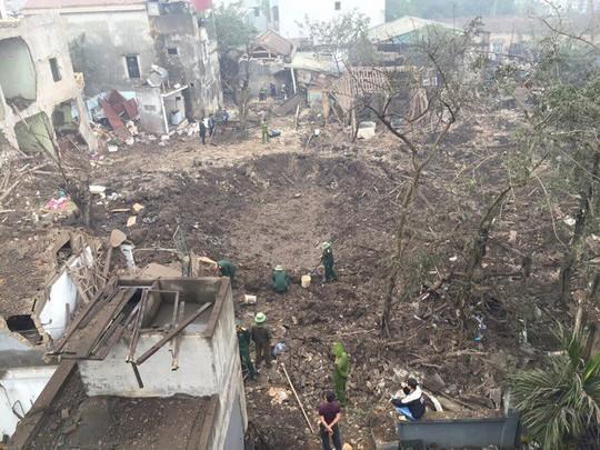 Bắc Ninh: Nổ lớn vùi lấp 5 ngôi nhà, 9 người thương vong - Ảnh 4.