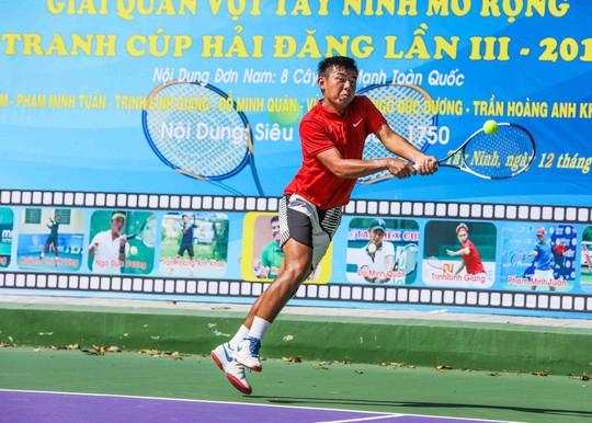 Lý Hoàng Nam vô địch Giải Quần vợt Tây Ninh mở rộng 2018 - Ảnh 2.