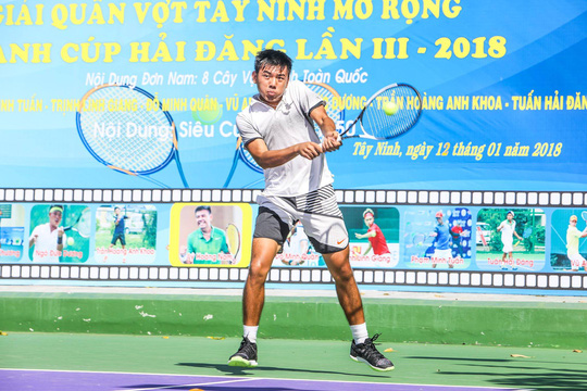 Lý Hoàng Nam vô địch Giải Quần vợt Tây Ninh mở rộng 2018 - Ảnh 1.