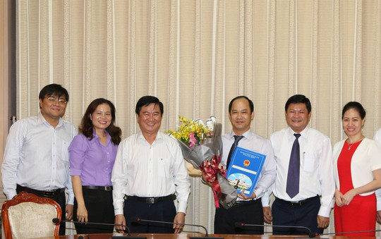 Ông Lê Đức Thanh làm Phó giám đốc Sở Tư pháp TP HCM - Ảnh 1.