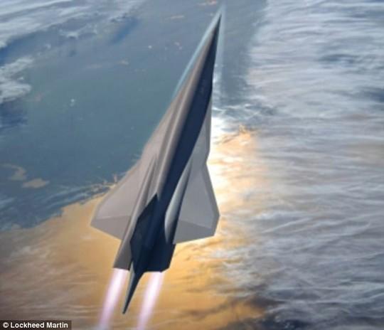 Lộ máy bay do thám tốc độ 7.400 km/h của Mỹ? - Ảnh 3.