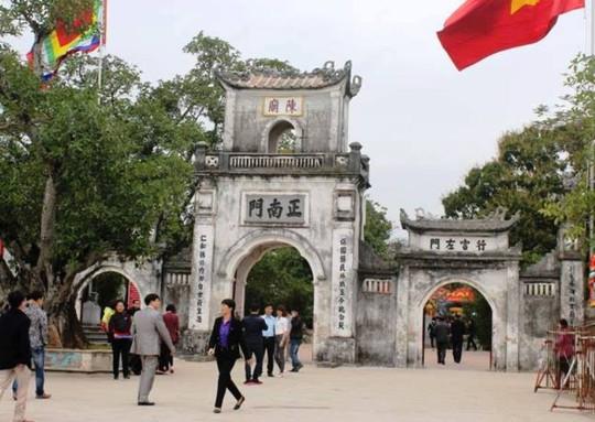 2.000 nhân viên an ninh lập 5 vòng bảo vệ lễ Khai ấn đền Trần - Ảnh 1.