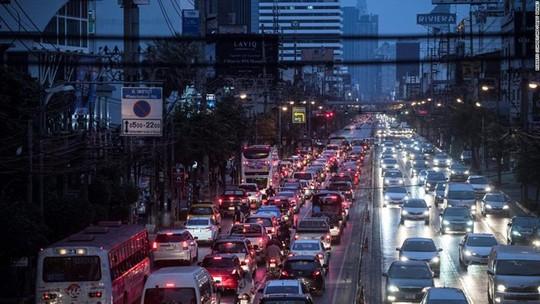 Những thành phố tắc nghẽn giao thông kinh hoàng nhất thế giới - Ảnh 3.