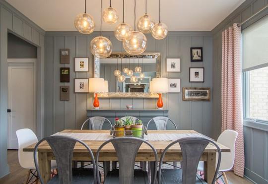 10 mẹo nhỏ giúp lựa chọn đèn trang trí bàn ăn hoàn hảo - Ảnh 1.