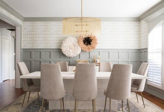10 mẹo nhỏ giúp lựa chọn đèn trang trí bàn ăn hoàn hảo - Ảnh 2.