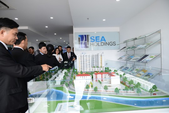 SeaHoldings và Công ty Xây dựng Phước Thành ký kết hợp tác đầu tư - Ảnh 1.