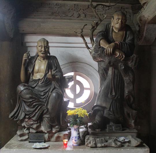 Chùa Tây Phương với 18 pho tượng La Hán - Ảnh 2.