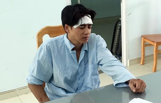 Một CSGT bị người vi phạm tông chấn thương sọ não - Ảnh 2.