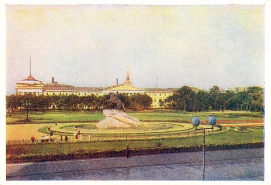 Ảnh đẹp thành phố Leningrad của Liên Xô năm 1952 - Ảnh 8.