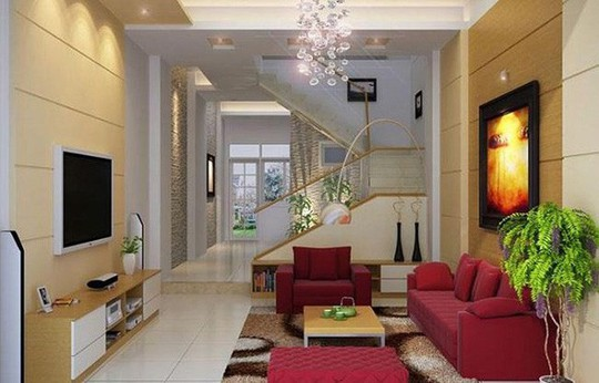 Những mẹo nhỏ cực hay giúp mở rộng phòng khách nhà ống - Ảnh 1.