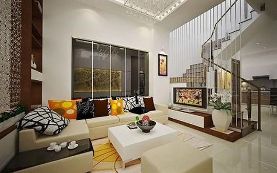 Những mẹo nhỏ cực hay giúp mở rộng phòng khách nhà ống - Ảnh 2.