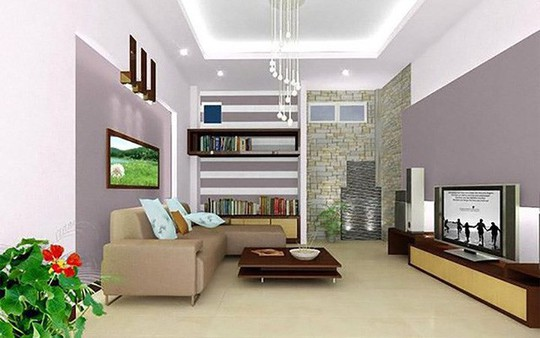 Những mẹo nhỏ cực hay giúp mở rộng phòng khách nhà ống - Ảnh 3.