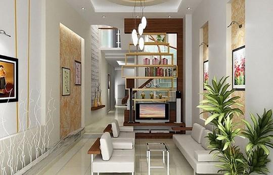 Những mẹo nhỏ cực hay giúp mở rộng phòng khách nhà ống - Ảnh 4.