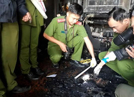 Vụ cả gia đình chết cháy ở Đà Lạt: Hàng xóm Trần Văn Quốc là nghi can - ảnh 1