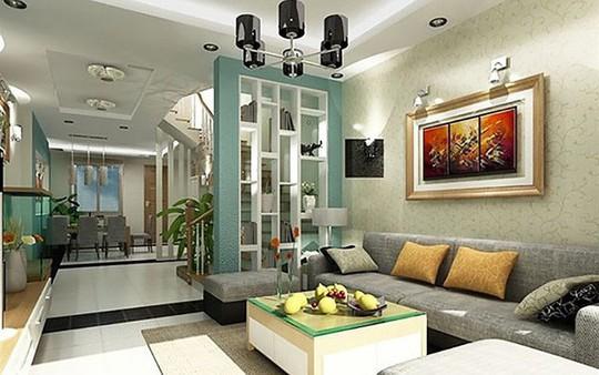 Những mẹo nhỏ cực hay giúp mở rộng phòng khách nhà ống - Ảnh 6.