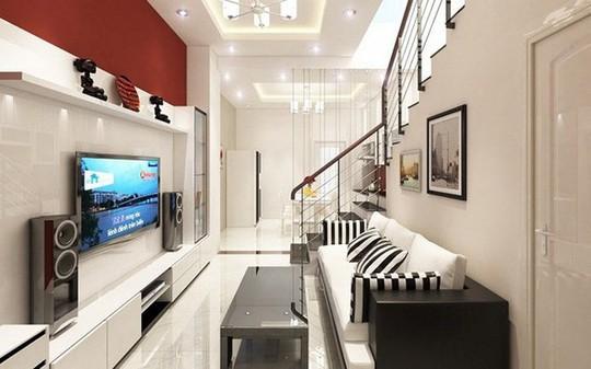 Những mẹo nhỏ cực hay giúp mở rộng phòng khách nhà ống - Ảnh 7.