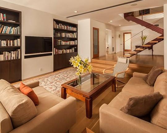 Những mẹo nhỏ cực hay giúp mở rộng phòng khách nhà ống - Ảnh 8.
