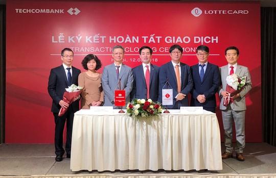 Hoàn tất chuyển nhượng TechcomFinance cho đối tác Hàn Quốc - Ảnh 1.