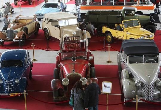 Chiêm ngưỡng dàn siêu xe của Liên Xô - Ảnh 12.