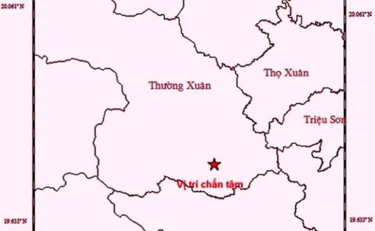 Động đất 3.0 richter tại huyện biên giới Thanh Hóa - Ảnh 1.