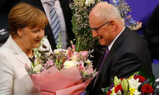 Bà Merkel tái đắc cử nhiệm kỳ 4 - Ảnh 1.